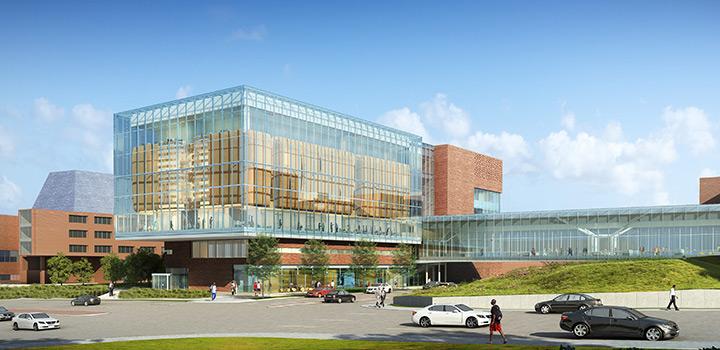 New Kansas University Medical Center Building
